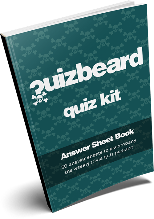 Quizbeard Quiz Kit Answer Sheet Book Now Available on Amazon
