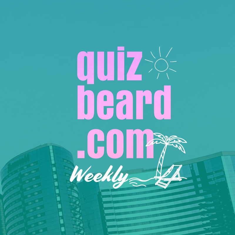 Quizbeard Weekly Trivia Quiz Podcast at quizbeard.com Miami Style