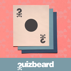 Quizbeard Weekly Trivia Quiz Podcast Black Spot Card