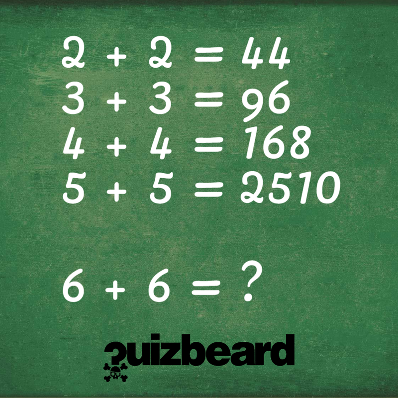 Quizbeard Weekly Trivia Quiz Podcast Maths Riddle