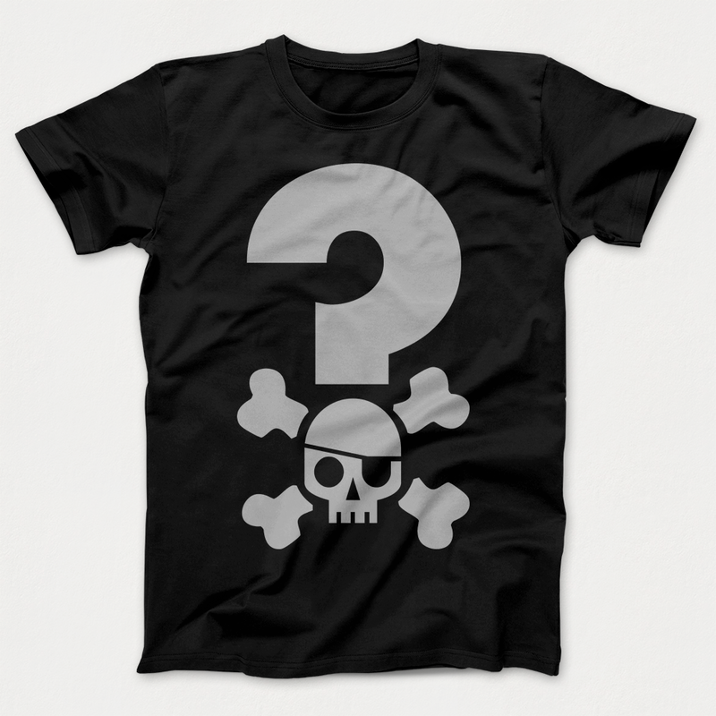 Quizbeard Weekly Trivia Quiz Podcast Black T-shirt