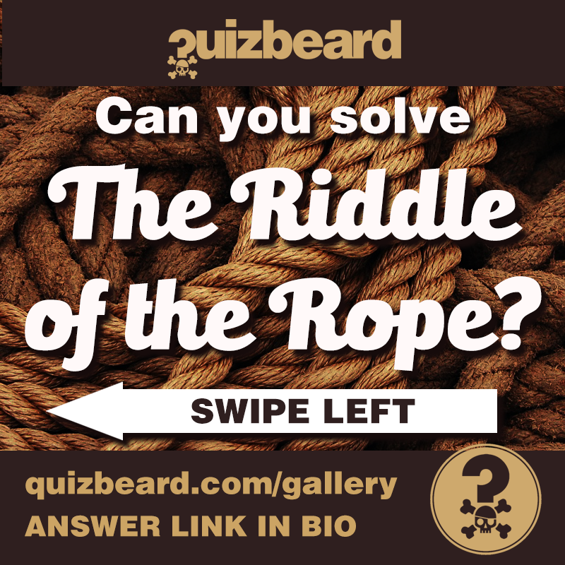 Quizbeard Weekly Trivia Quiz Podcast Riddle of the Rope